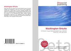Capa do livro de Washington Ortuño