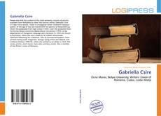 Couverture de Gabriella Csire