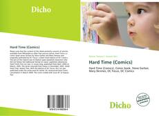 Bookcover of Hard Time (Comics)