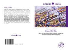 Bookcover of Llano Del Rio