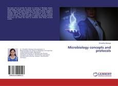 Couverture de Microbiology concepts and protocols