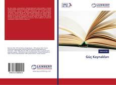 Güç Kaynakları kitap kapağı