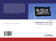 Portada del libro de Radicalism in the Sahel