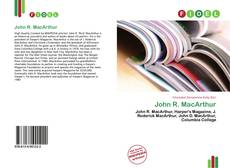 Bookcover of John R. MacArthur
