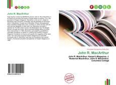 Copertina di John R. MacArthur