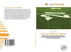 Bookcover of Jacky Lee (American Football)