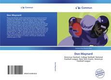 Обложка Don Maynard