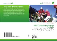 Joe O'Donnell (American Football) kitap kapağı