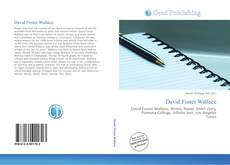 Bookcover of David Foster Wallace