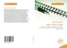 Portada del libro de John Taylor Gatto