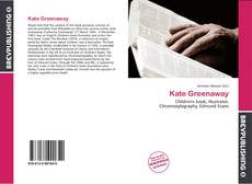 Bookcover of Kate Greenaway