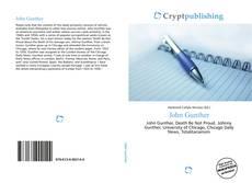 Bookcover of John Gunther