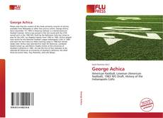 Bookcover of George Achica