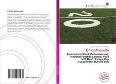 Capa do livro de Chidi Ahanotu