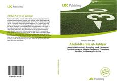 Bookcover of Abdul-Karim al-Jabbar