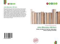 Обложка John Marsden (Writer)