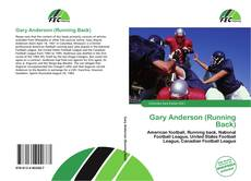 Bookcover of Gary Anderson (Running Back)