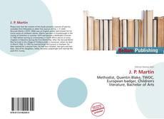 Bookcover of J. P. Martin