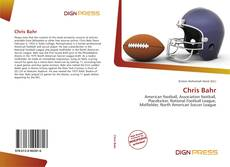 Bookcover of Chris Bahr