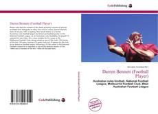 Darren Bennett (Football Player)的封面
