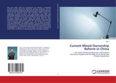 Capa do livro de Current Mixed Ownership Reform in China