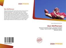 Bookcover of Don McPherson