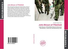 Обложка John Brown of Pittsfield