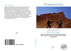 Bookcover of Barry St. Leger