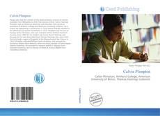 Calvin Plimpton kitap kapağı
