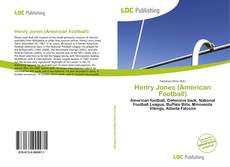 Bookcover of Henry Jones (American Football)