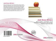 Bookcover of Jack Snow (Writer)