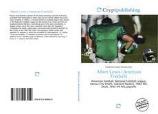 Portada del libro de Albert Lewis (American Football)