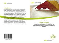 Bookcover of John Gower