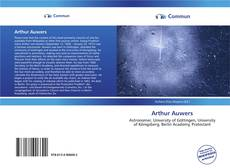 Bookcover of Arthur Auwers