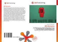 Capa do livro de AC Horsens