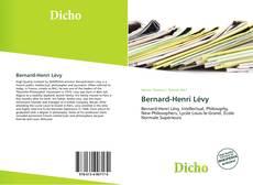 Couverture de Bernard-Henri Lévy