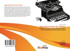 Buchcover von Aga Khan Prize for Fiction