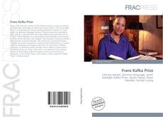 Bookcover of Franz Kafka Prize