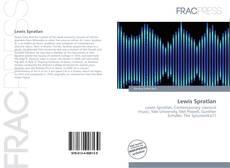 Lewis Spratlan kitap kapağı