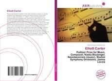 Capa do livro de Elliott Carter