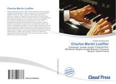 Обложка Charles Martin Loeffler