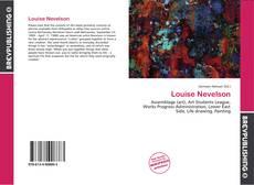 Обложка Louise Nevelson
