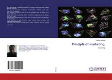 Bookcover of Principle of marketing