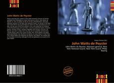 Bookcover of John Watts de Peyster