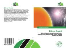 Portada del libro de Ditmar Award