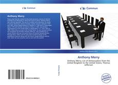 Bookcover of Anthony Merry