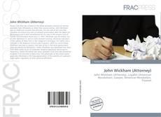 Buchcover von John Wickham (Attorney)