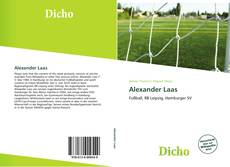 Bookcover of Alexander Laas