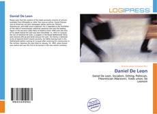Bookcover of Daniel De Leon