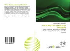 Capa do livro de Chris Warren (American Football)